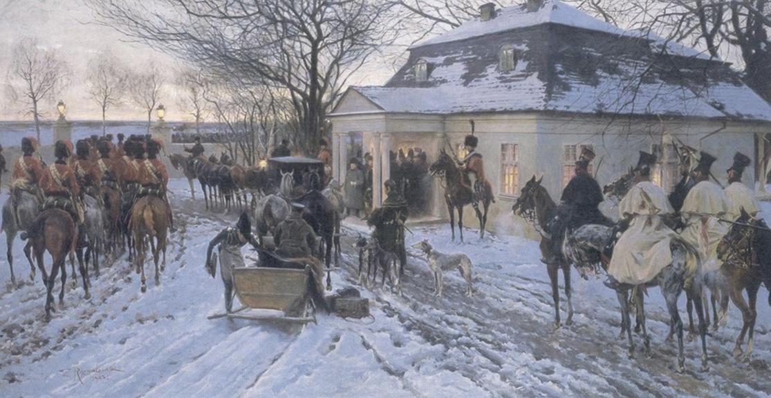 Наполеон в Сморгони, З. Розвадовски