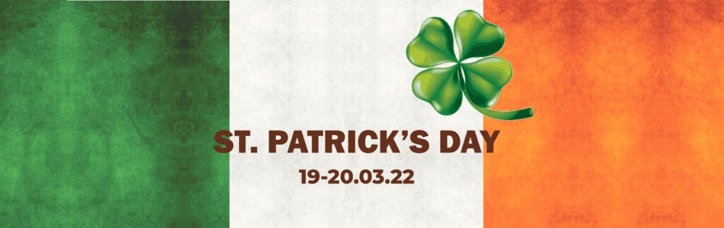 События - День святого Патрика баннер 01